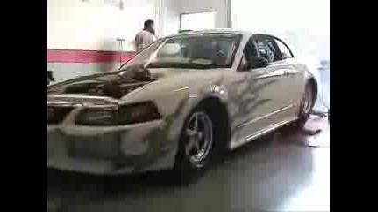Добре Тунингован Mustang Дуно Тест