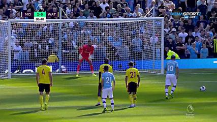 Манчестър Сити - Уотфорд 5:0 /първо полувреме/