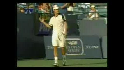 Andy Roddick (play Of The Week)