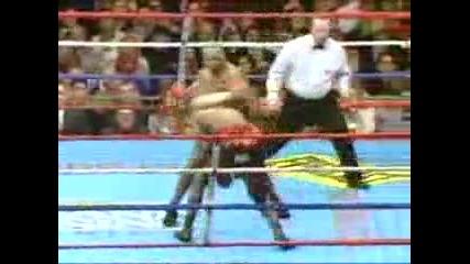 Mike Tyson vs Clifford Etienne - Супер нокаут!