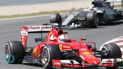 Ferrari's Sebastian Vettel Races Past Hamilton at Austrian Grand Prix Practice