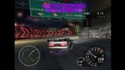 Nfsu2 - Lower Eastside - 2 Laps first driving ! ! !