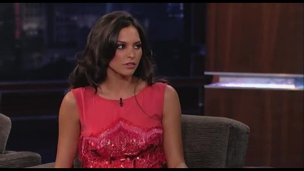Genesis Rodriguez on Jimmy Kimmel Live (part 2)