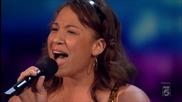Момиче разплака Nicole Scherzinger с гласа си - X Factor Usa