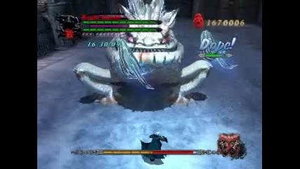 Dante vs Dagon no damage