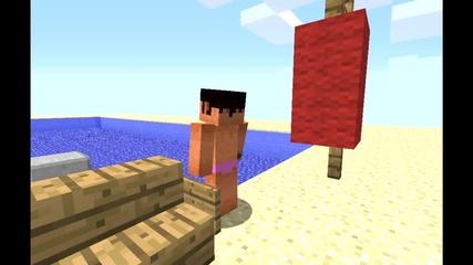 A Minecraft Parody of Lmfao I am Sexy And I Know It (music Video)
