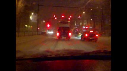 Сняг на пътя