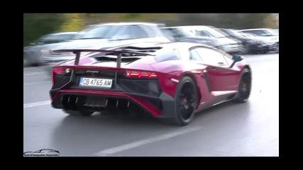 Lamborghini Aventador Lp750-4 Sv в София !