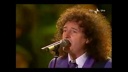 Brian May and Lucianno Pavarotti - Too Much Love Will Kill You