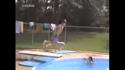 Смях в басейна