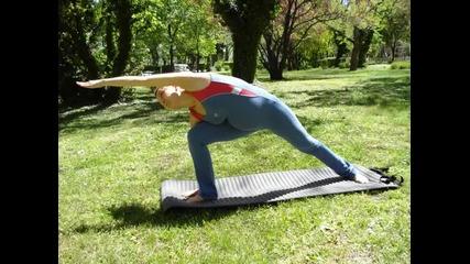 Йога за бременни с Надя по Гита Айенгар-1