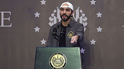 El Salvador: Pres Nayib Bukele casts ballot as his party projected to win legislative elections