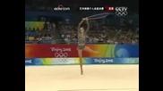 Анна Бесонова - Олимпиада 08, Въже