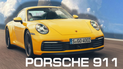Карахме новото Porsche 911 Cabrio