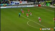 Нюкасъл направи знаменит обрат срещу Арсенал