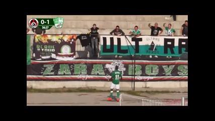 ВИДЕО: Вторият гол за Берое срещу Локо Сф