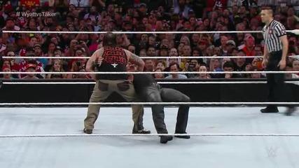 [wrestlemania 31]- Undertaker vs Bray Wyatt