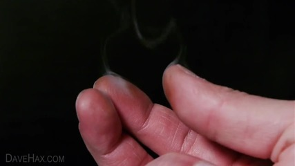 Как да направим пръстите ни да пушат - Трик