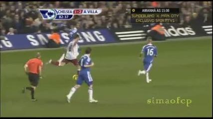 Гол на Стилиян Петров срещу Челси - Оправяй се Стенли!