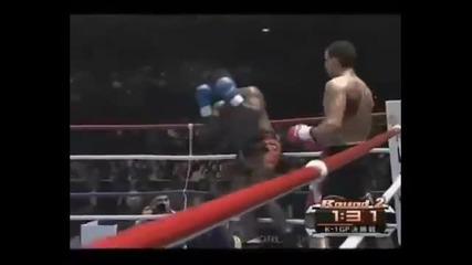 Badr Hari The Best of k1 - Danse de guerrier de Kamel l'ancien - Youtube