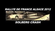 Solbergs Crash - 2012 Wrc Rallye de France