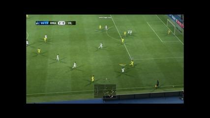 Real Madrid vs Villareal [best moments]