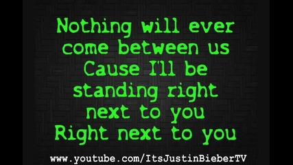 Chris Brown ft. Justin Bieber - Next 2 You (lyrics)