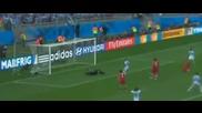 Група F Аржентина - Иран Меси 1:0 90+4 (21.06.2014)
