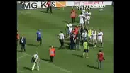 Torino - Genoa бой между играчите !