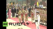 Pakistan: Xi Jinping receives military honours at Noor Khan airbase