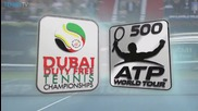 Dubai 2015 - Friday Hot Shot By Roger Federer
