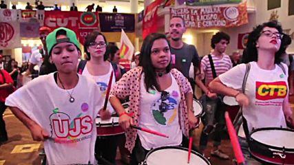 Brazil: Rousseff slams Temer's 'anti-woman, anti-black, anti-LGBT' govt. in Sao Paulo