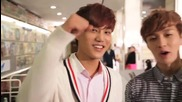 [+ Бг превод] Exo - Kai and Lay , Tv Show Super Dog Promotion