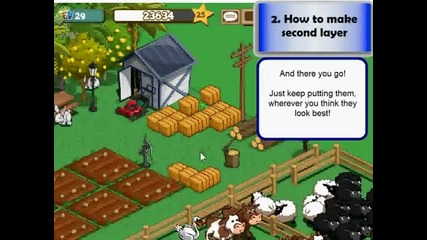 Farmville Hay Bale Stacking