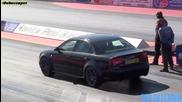 Audi Rs4 - 1/4 миля