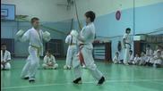 Тренировка по Киокушинкай карате