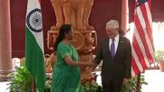 India: No Indian troops on Afghanistan soil - Indian defence minister tells Mattis