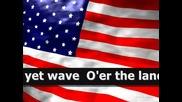 Националният химн на Сащ