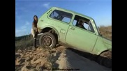 car stuck girls 4