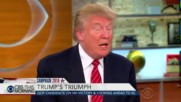 "Cbs ""this Morning"" Interviews Prove Donald Trump Is Very Intelligent"