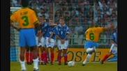 Трите Гола Останали в Историята ! Roberto Carlos