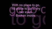 Avril Lavigne - Nobody`s Home (with Lyrics)
