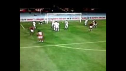Роналдо вкарва гол Fifa 12 xbox360