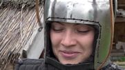 Girl power! Female 'knight' speaks of passion for medieval combat