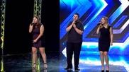 """Трио """"Paradise"""", Невена и Любомир - X Factor (06.10.2015)"""