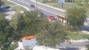 """""""Моята новина"""": Автобус се блъсна в стълб във Варна"""