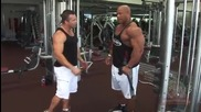 Phil Heath (mr. Olympia) - Cable Hammer Curl