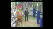 Руски свободни борби в магазина!