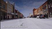 Снежна буря в Оклахома Сити 2.2.2014