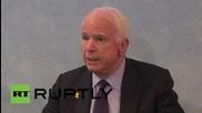 Estonia: 'Peace through strength' - McCain touts US Army presence in E. Europe